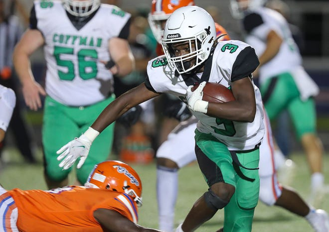 Jarel Heard and Dublin Coffman will host the undefeated Upper Arlington on October 15th.