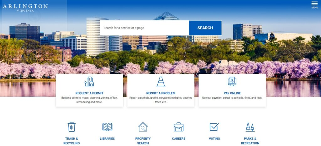 Arlington County Launches New Website