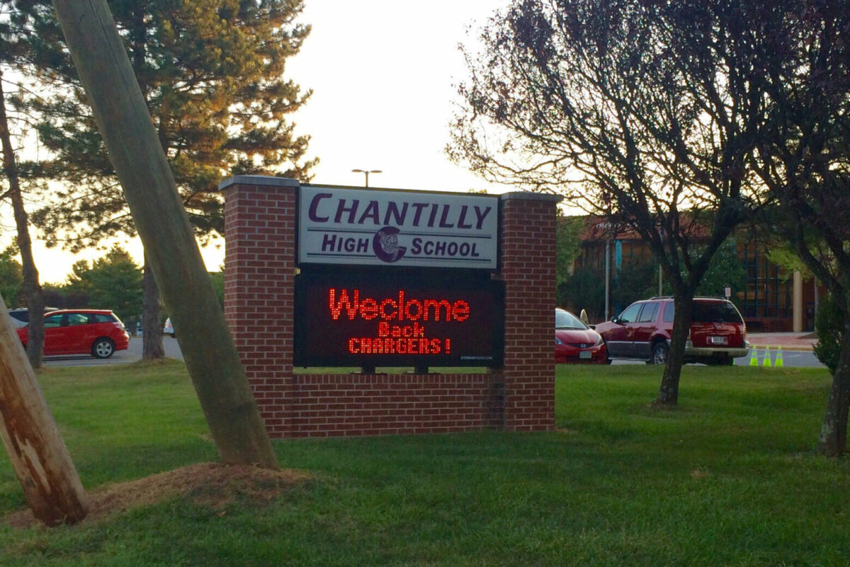 Man charged with sexually assaulting Chantilly High School students